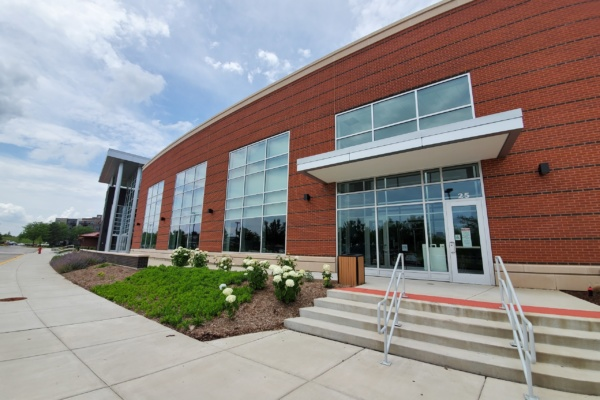 Health & Fitness Center Entrance