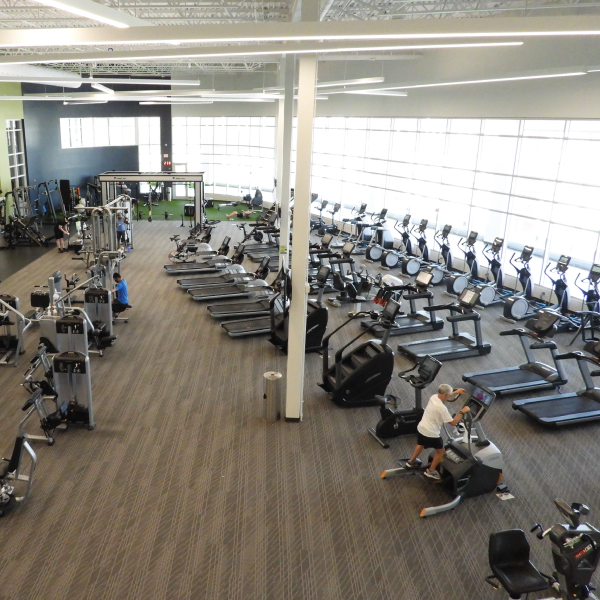 Health & Fitness Center Workout Floor