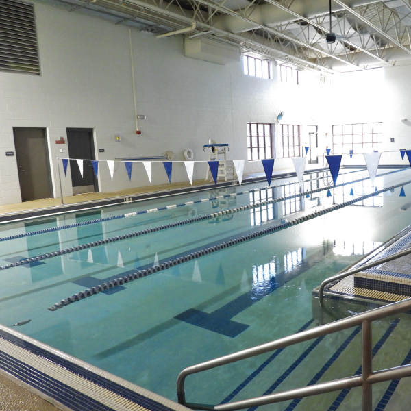 Indoor Pool Lap Lanes